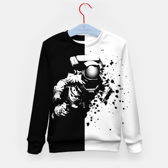 Thumbnail image of Cosmic Breakthrough Kid's Sweater, Live Heroes