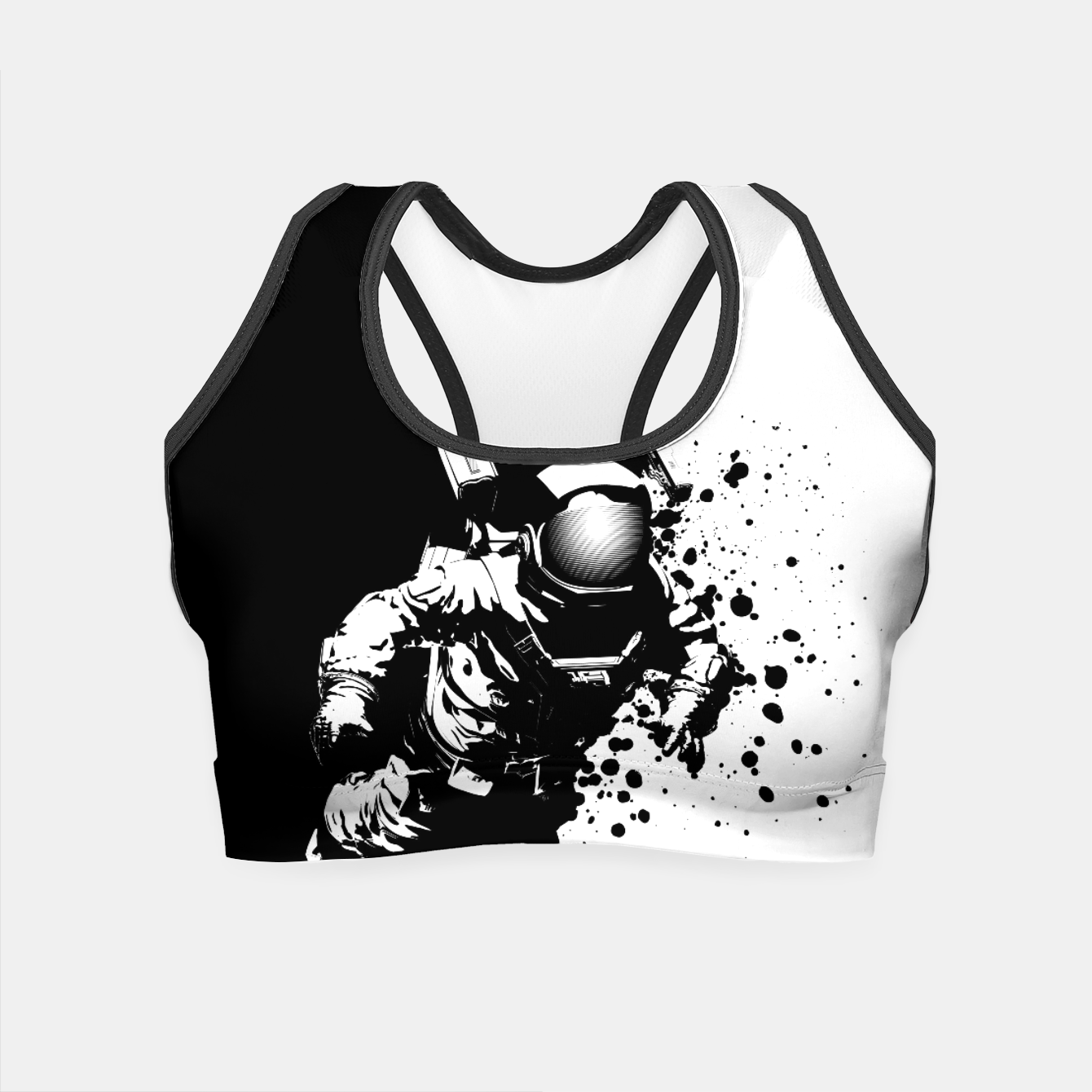 Image of Cosmic Breakthrough Crop Top - Live Heroes