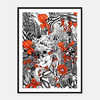Thumbnail image of Sixth Mix Black Framed poster, Live Heroes