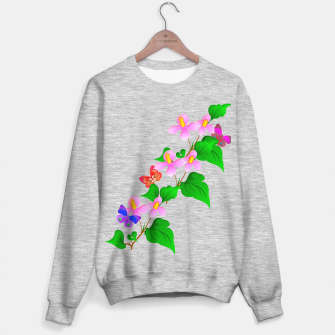 Thumbnail image of Flowers and Butterfly's  Sweater regular, Live Heroes