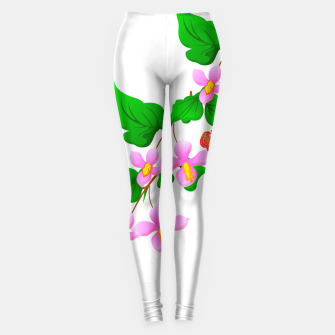 Thumbnail image of Flowers and Butterfly's  Leggings, Live Heroes