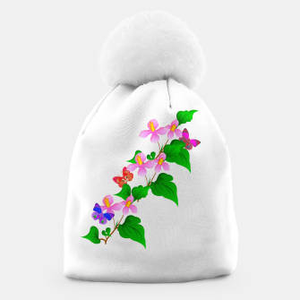 Thumbnail image of Flowers and Butterfly's  Beanie, Live Heroes