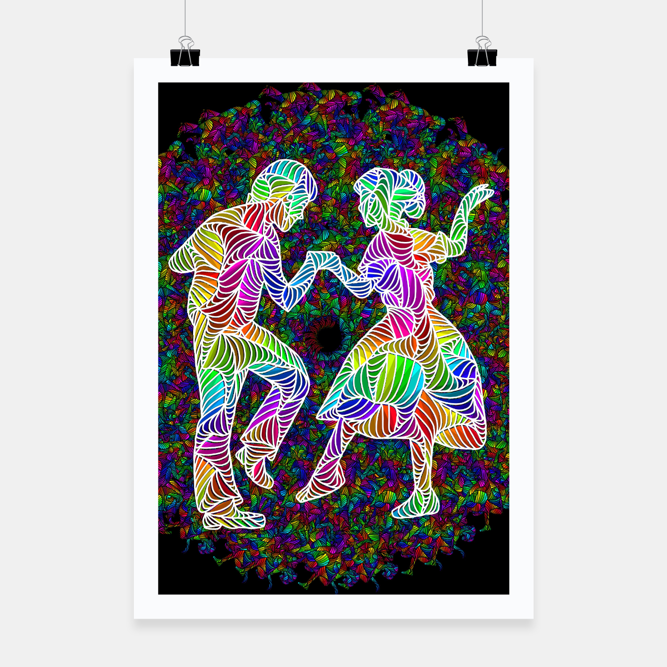 Image of dance Poster - Live Heroes