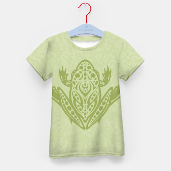Thumbnail image of Tribal Leopard Frog Kid's T-shirt, Live Heroes