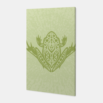 Thumbnail image of Tribal Leopard Frog Canvas, Live Heroes