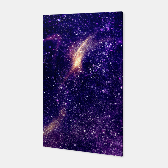Thumbnail image of Ultra violet purple abstract galaxy Canvas, Live Heroes
