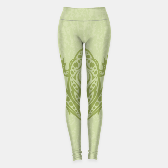 Thumbnail image of Tribal Leopard Frog Leggings, Live Heroes