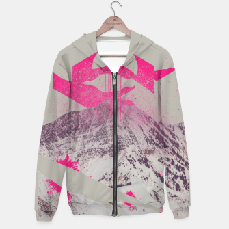 Thumbnail image of Abstracted Mountains Hoodie, Live Heroes