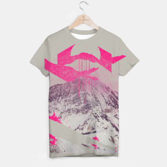 Thumbnail image of Abstracted Mountains T-shirt, Live Heroes