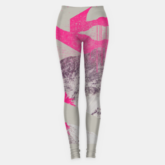 Thumbnail image of Abstracted Mountains Leggings, Live Heroes