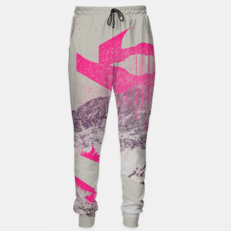 Thumbnail image of Abstracted Mountains Sweatpants, Live Heroes