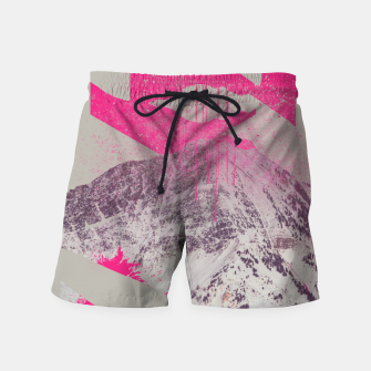 Thumbnail image of Abstracted Mountains Swim Shorts, Live Heroes