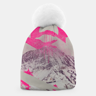 Thumbnail image of Abstracted Mountains Beanie, Live Heroes