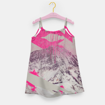 Thumbnail image of Abstracted Mountains Girl's Dress, Live Heroes