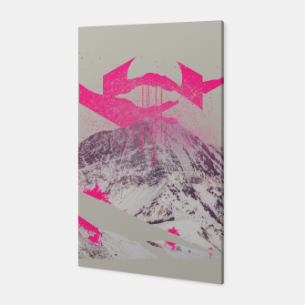 Miniature de image de Abstracted Mountains Canvas, Live Heroes