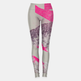 Miniature de image de Abstracted Mountains Leggings, Live Heroes
