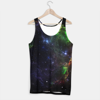 Thumbnail image of Mass Star Nebula Fractal Art Tank Top, Live Heroes