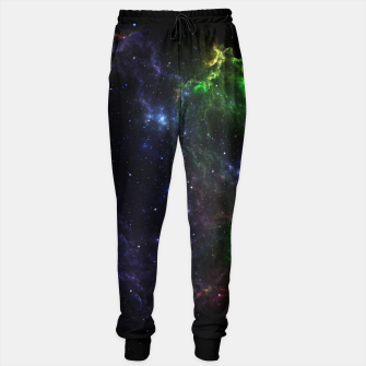 Mass Star Nebula Fractal Art Sweatpants thumbnail image