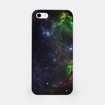 Mass Star Nebula Fractal Art iPhone Case thumbnail image