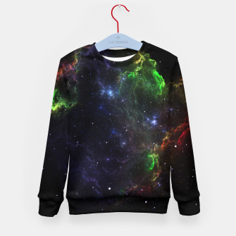 Mass Star Nebula Fractal Art Kid's Sweater thumbnail image
