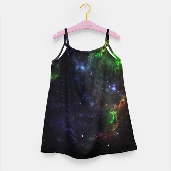 Mass Star Nebula Fractal Art Girl's Dress thumbnail image