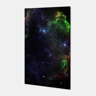 Mass Star Nebula Fractal Art Canvas thumbnail image