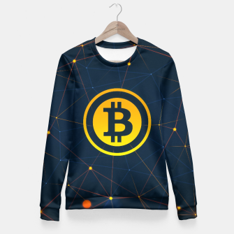 Thumbnail image of bitcoin Fitted Waist Sweater, Live Heroes