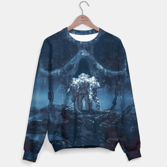 Thumbnail image of Planet of Doom Sweater, Live Heroes