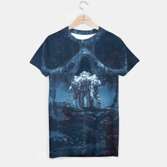 Thumbnail image of Planet of Doom T-shirt, Live Heroes