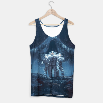 Thumbnail image of Planet of Doom Tank Top, Live Heroes