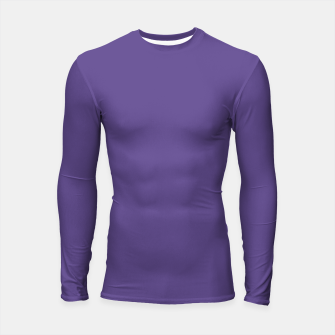 Imagen en miniatura de Color of the Year 2018 - Ultraviolet - Pure&Basic Longsleeve Rashguard, Live Heroes