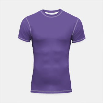Imagen en miniatura de Color of the Year 2018 - Ultraviolet - Pure&Basic Shortsleeve Rashguard, Live Heroes