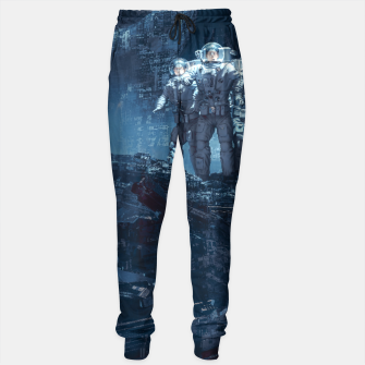Thumbnail image of Planet of Doom Sweatpants, Live Heroes