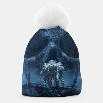 Thumbnail image of Planet of Doom Beanie, Live Heroes