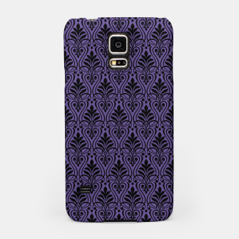 Imagen en miniatura de Color of the Year 2018 - Ultraviolet - Art Deco Black Edition Handyhülle für Samsung, Live Heroes