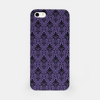 Imagen en miniatura de Color of the Year 2018 - Ultraviolet - Art Deco Black Edition iPhone-Hülle, Live Heroes
