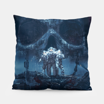 Thumbnail image of Planet of Doom Pillow, Live Heroes