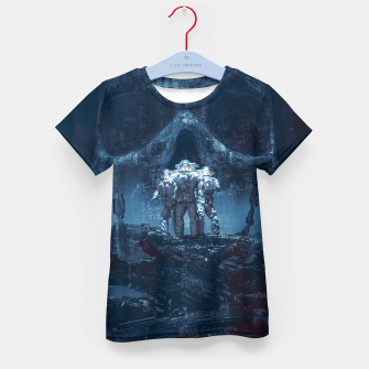 Thumbnail image of Planet of Doom Kid's T-shirt, Live Heroes