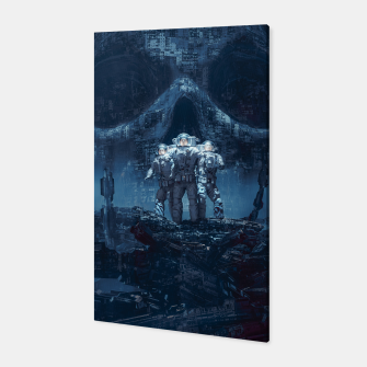 Thumbnail image of Planet of Doom Canvas, Live Heroes