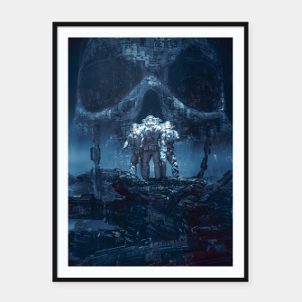 Thumbnail image of Planet of Doom Framed poster, Live Heroes