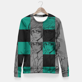 Thumbnail image of Harry inspired Fitted Waist Sweater, Live Heroes