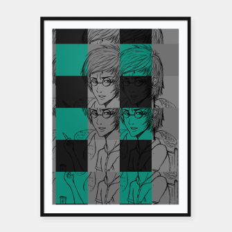Thumbnail image of Harry inspired Framed poster, Live Heroes