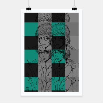 Thumbnail image of Harry inspired Poster, Live Heroes