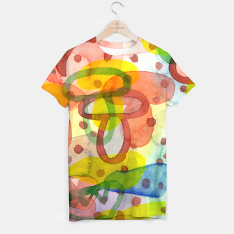 Thumbnail image of Blurry Mushroom and other Things  T-shirt, Live Heroes