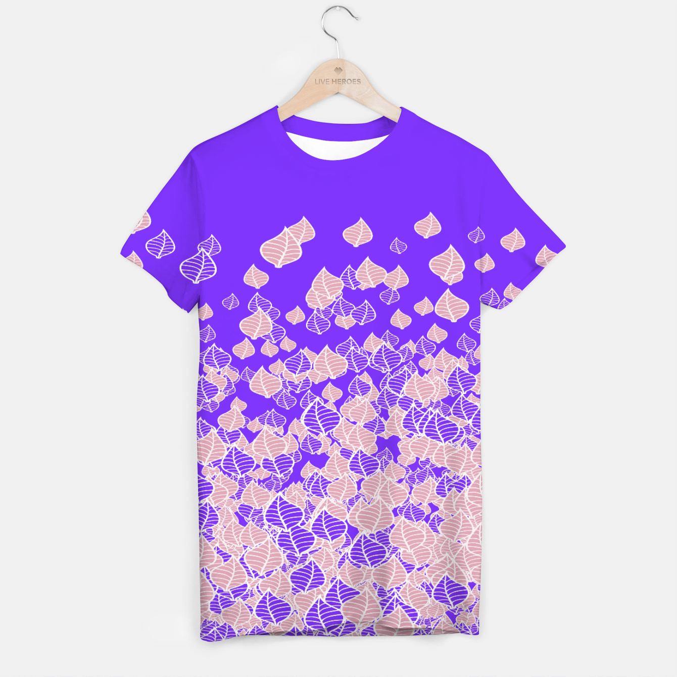Image of Leaf Blower PINK T-shirt - Live Heroes