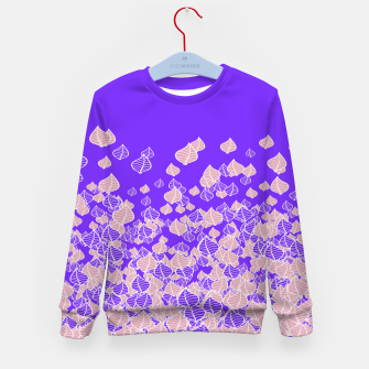 Leaf Blower PINK Kid's Sweater thumbnail image