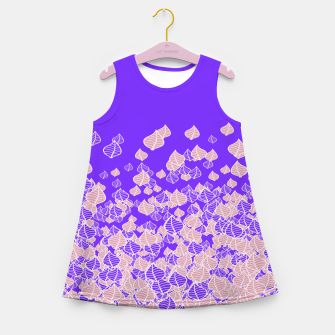 Leaf Blower PINK Girl's Summer Dress thumbnail image