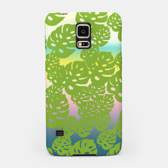 Miniatur green leafs Samsung Case, Live Heroes