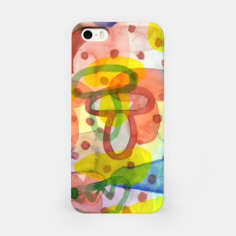 Thumbnail image of Blurry Mushroom and other Things  iPhone Case, Live Heroes