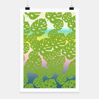 Miniatur green leafs Poster, Live Heroes